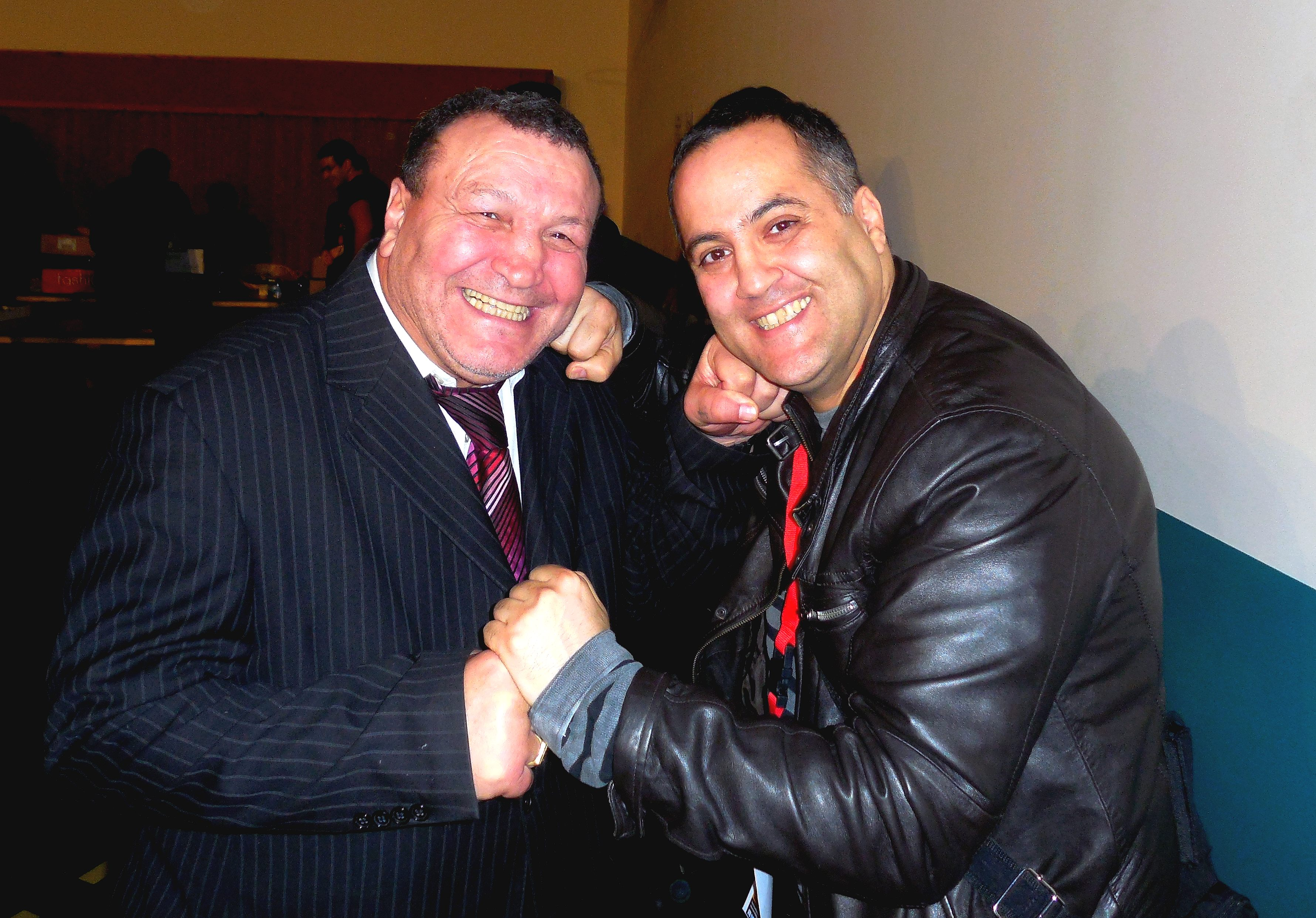 Loucif Hamani et Nasser Negrouche